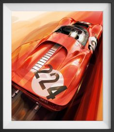 Ferrari 330 P4 Limited Edition Print