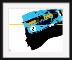 Speed Icons: Gulf Porsche 917 – Limited Edition Print