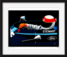 Speed Icons: Jackie Stewart – Limited Edition Print