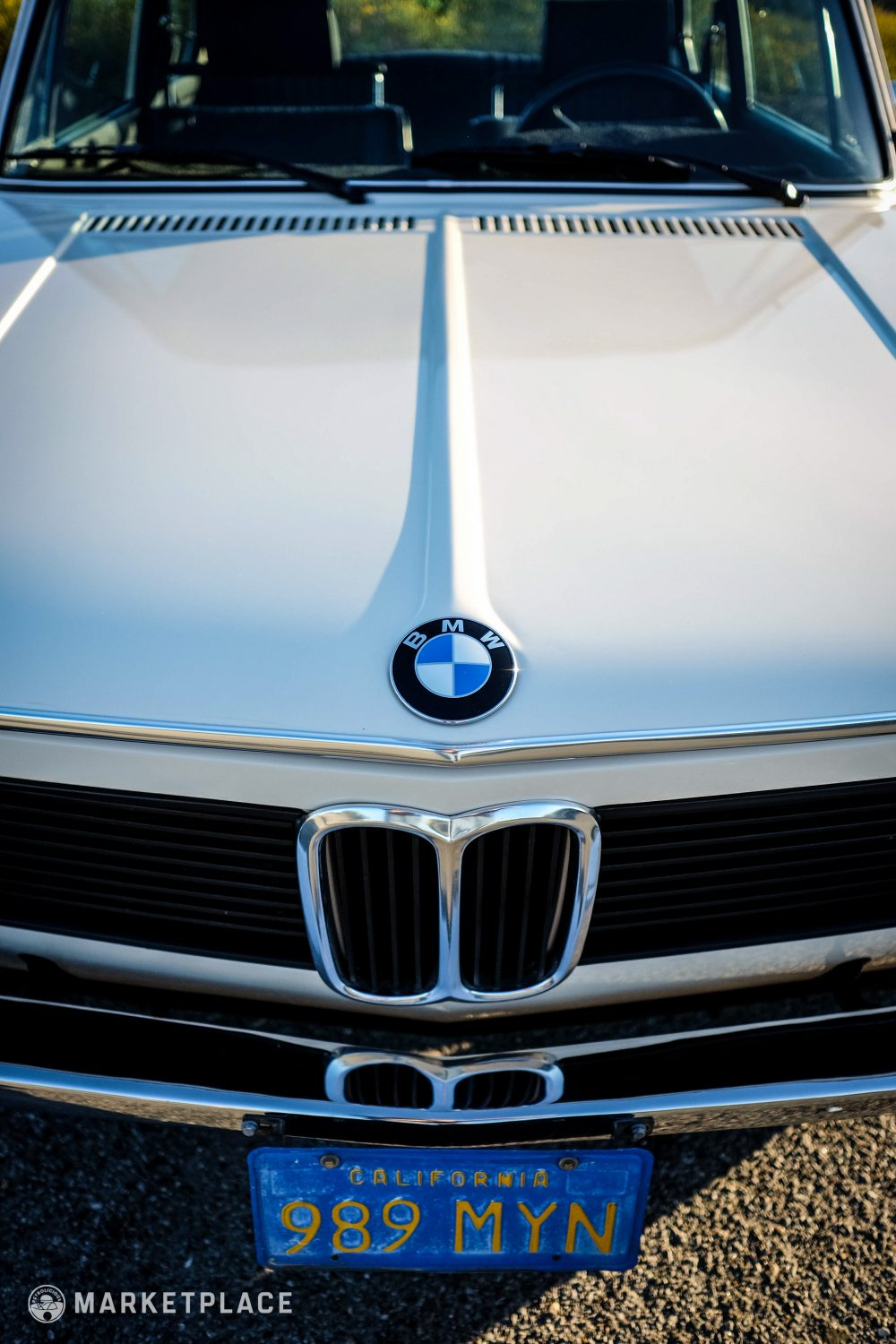 1975 Bmw 2002 Petrolicious 1968 Wiring Diagram Chrome Glass Every Piece Of Is Original To The Car All Polished Metalwork Free Hazing Pitting Or Warpage
