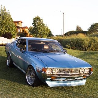 This Toyota Celica Liftback GT Beautifully Couples Japanese And American Design