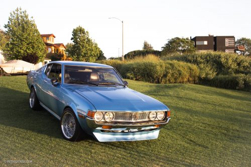 This Toyota Celica Liftback Gt Beautifully Couples Japanese And