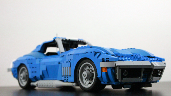Enthusiast Built Lego Corvettes Are Much More Than Simple Toys