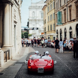 Watching The Start Of The Mille Miglia Is An Incredible Sight