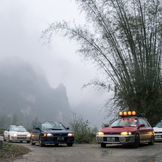 Traversing Southeast Asia With A Crew Of Subaru Imprezas, Pt. 1