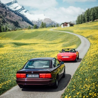 Driving From Munich To Villa d'Este In A BMW Z8 & 850i, The Long Way