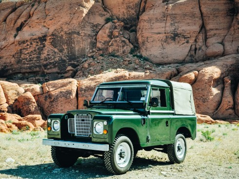 1978 Land Rover Series III SWB