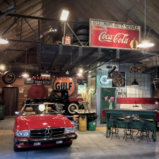This Dream Garage Is More Than Just A Place To Store Classic Cars