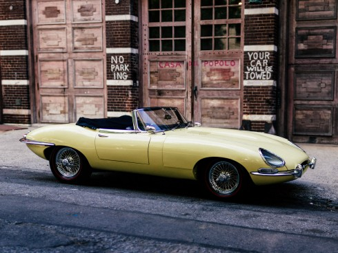 20k-Mile 1967 Jaguar E-Type