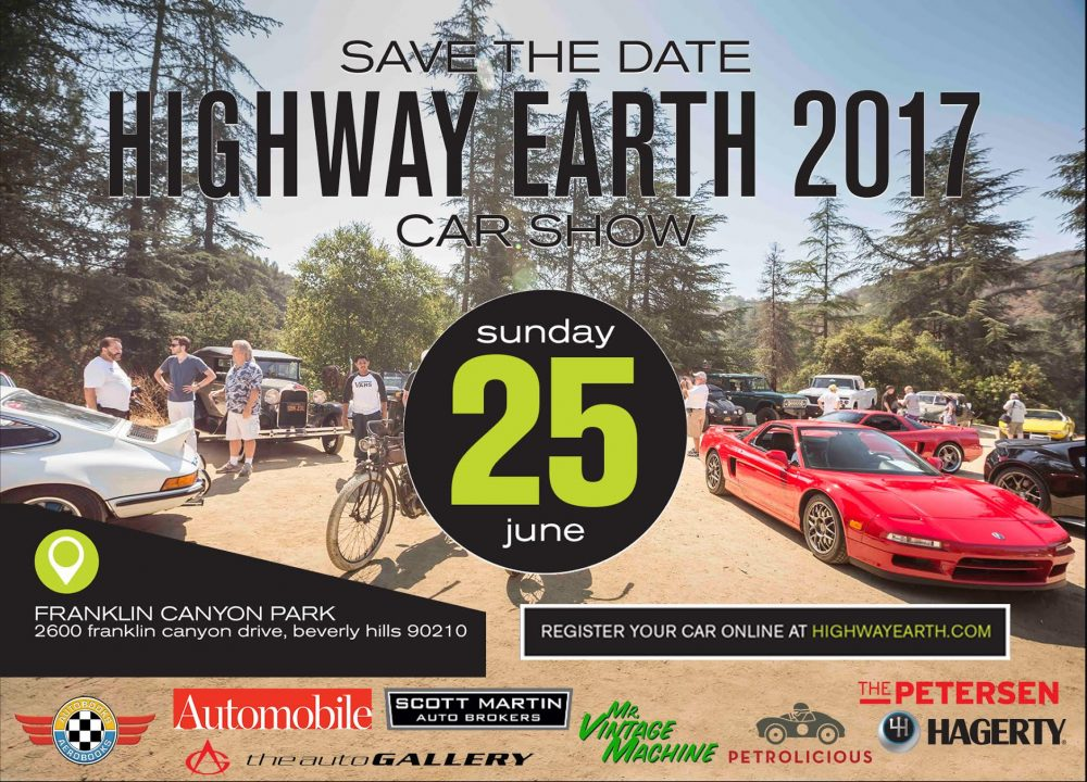 Join Petrolicious On June Th For The Th Annual Highway Earth - Beverly hills car show