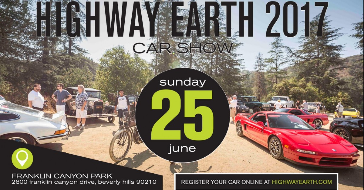 Join Petrolicious On June 25th For The 4th Annual 'Highway Earth