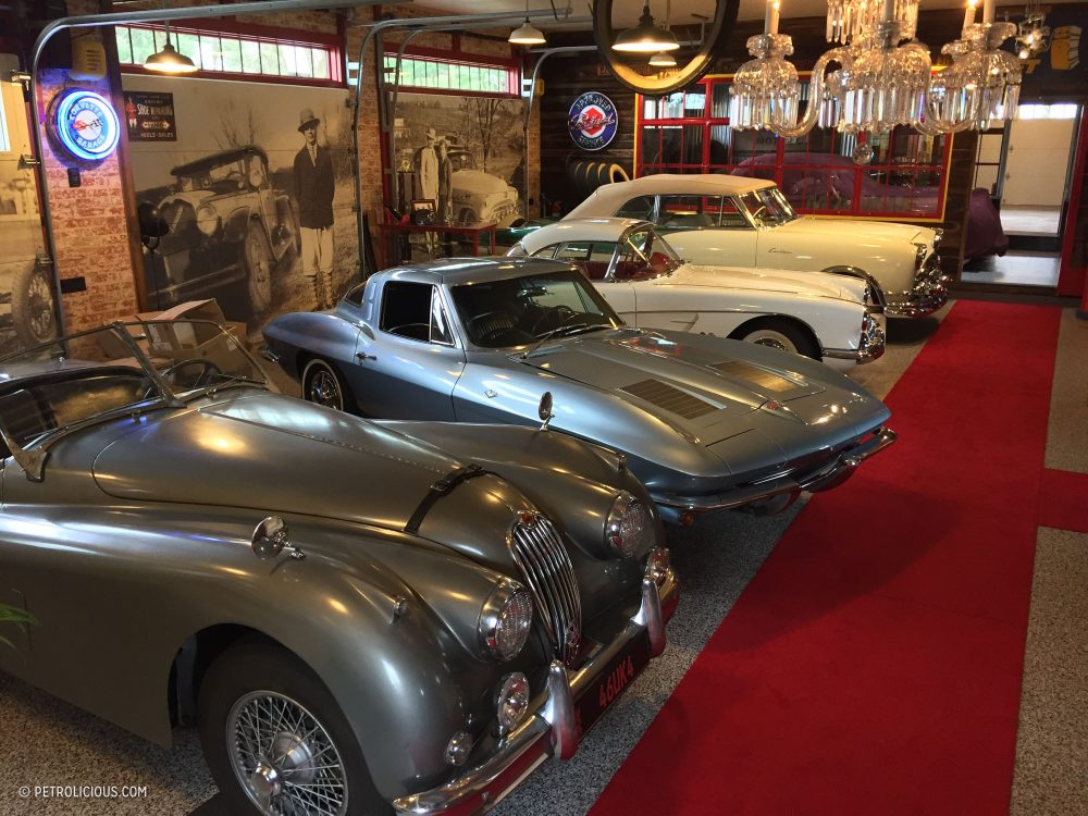 This Dream Garage Is More Than Just A Place To Store Classic Cars ...