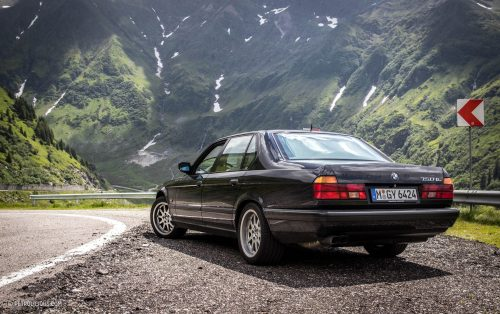 New Old School Bmws E23 745ia And E32 750il Petrolicious