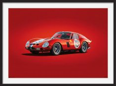 Ferrari 250 GTO – Colors of Speed Poster