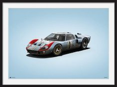 Ford GT – Colors of Speed Poster