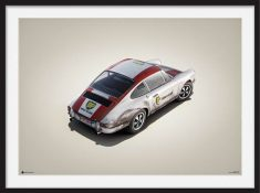 Porsche 911R – Colors of Speed Poster