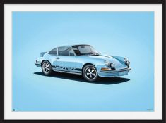 Porsche 911RS – Colors of Speed Poster