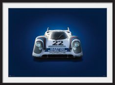 Porsche 917 – Colors of Speed Poster