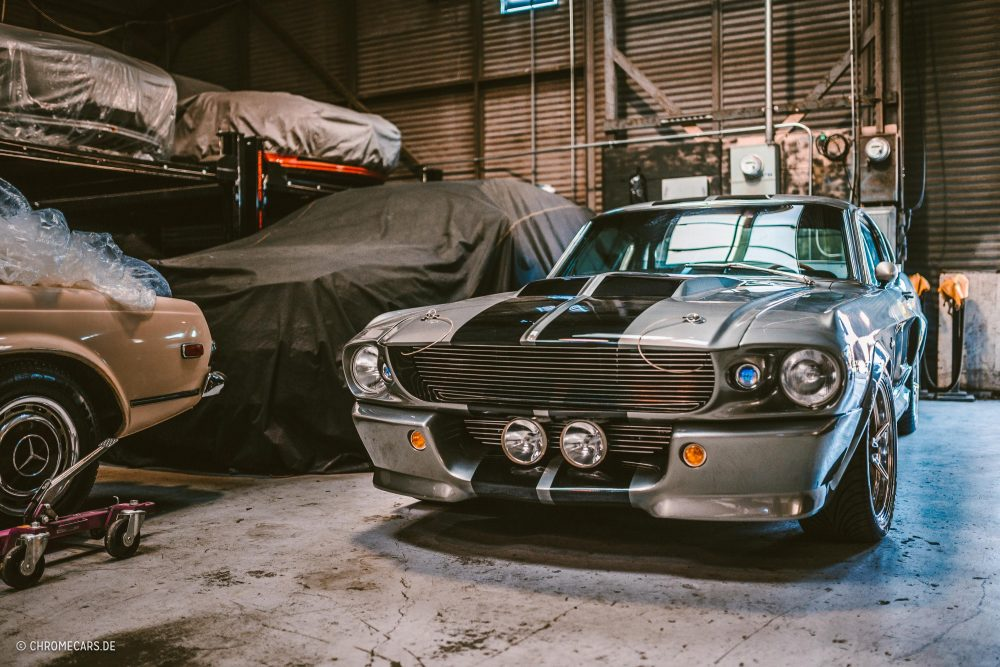 An Authentic Eleanor Mustang Revisits The Set Of Los Angeles ...