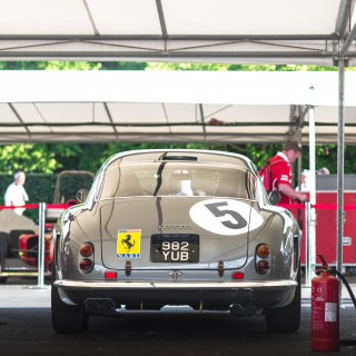 Celebrating 70 Years Of Ferrari, In England