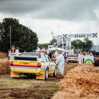 Rallying At Goodwood: The Festival of Speed Isn't Afraid To Get Muddy