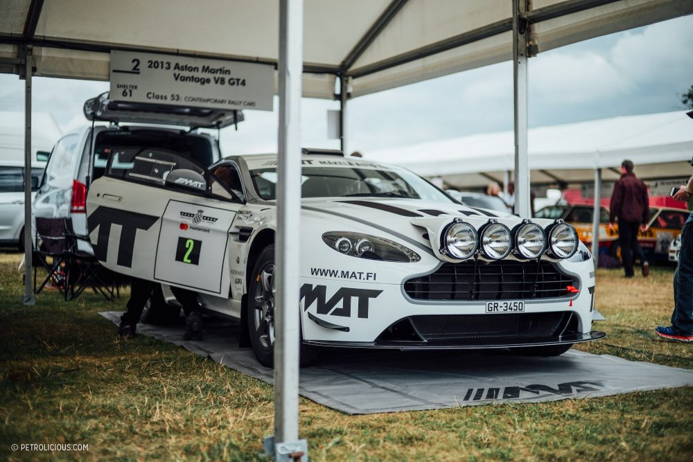 This Is The OEM-Quality V8 Vantage Rally Car That Aston Martin Never ...
