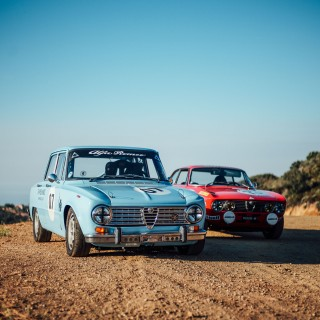 GALLERY: Heaven Is Two Race-Prepped Alfas At Dawn In Malibu's Mountains