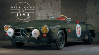 Modified Yet Period-Correct, This Mercedes-Benz 190SL Is Displaced In Time