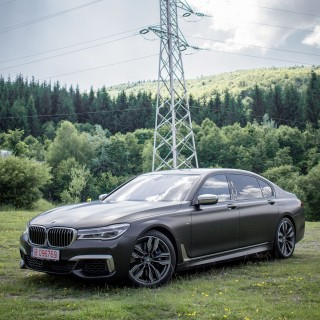 Resisting Reality In The BMW M760Li