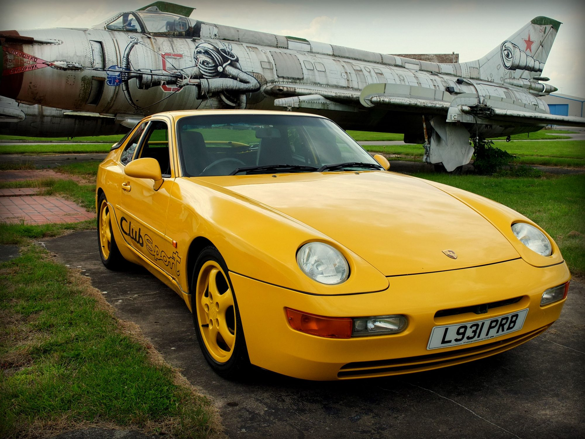 speed yellow redux my porsche 968 400 euro job 400. Black Bedroom Furniture Sets. Home Design Ideas