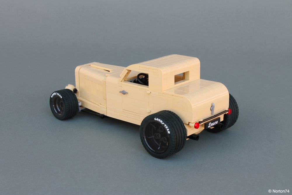 Vintage Ford Hot-Rodding In LEGO Style • Petrolicious