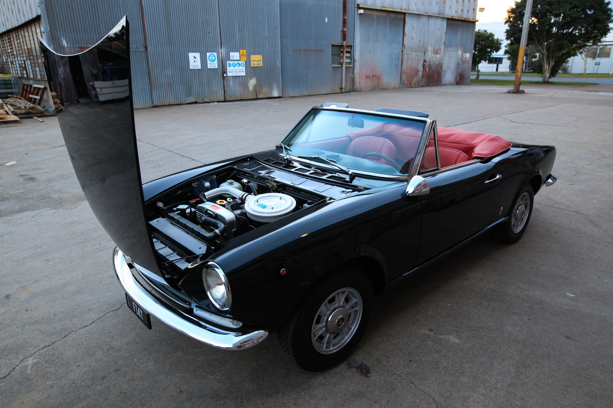 search and restore my 1967 fiat 124 spider 400 euro job. Black Bedroom Furniture Sets. Home Design Ideas