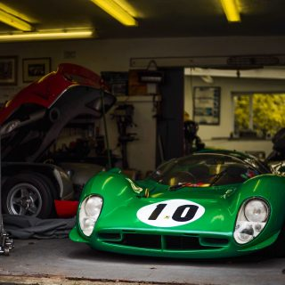 David Piper's Legendary Green Racecars Are Invading France