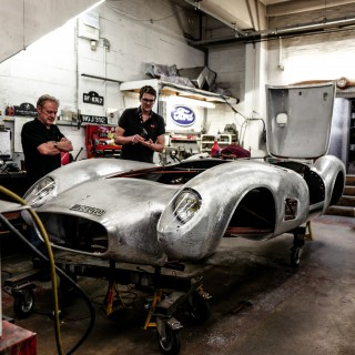 Retrace The Evolution Of One Of England's Premier Restoration Garages