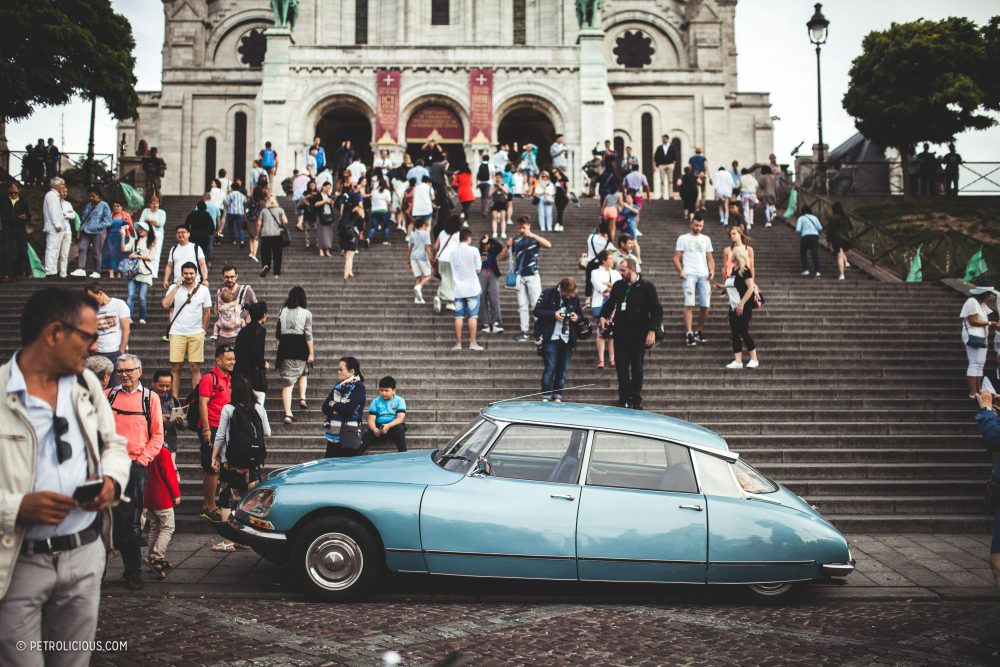 Criss-Crossing Paris With Hundreds Of Vintage Cars Is A Fine Way To ...