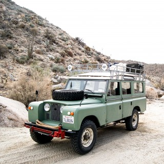 From Childhood And For The Future: My 1967 Land Rover Series IIA
