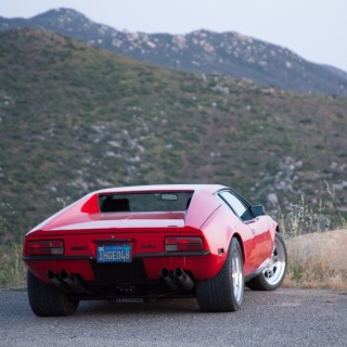 GALLERY: Behind The Scenes On Our 1972 De Tomaso Pantera Film Shoot