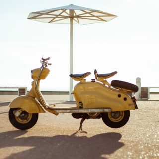 GALLERY: Behind The Scenes On Our 1957 Lambretta Scooter Film