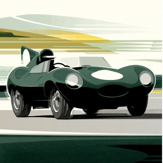 New Jaguar Racing Prints From Guy Allen Are Available In The Shop