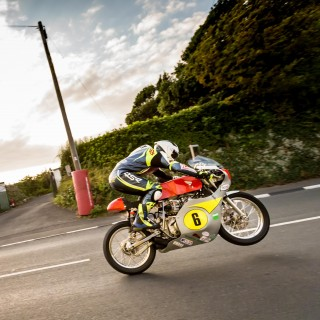 Vintage Racing Motorcycles Achieve Harrowing Speed At The Isle Of Man Classic TT