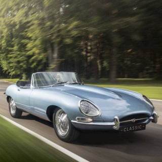 The All-Electric Jaguar E-Type Zero Could Lead Us Into A Tasteful EV Future