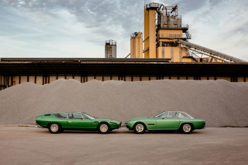 A Lamborghini Islero And Espada Illustrate The Philosophy Of Curated
