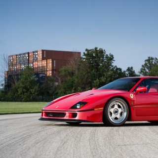 GALLERY: Behind The Scenes On Our 1991 Ferrari F40 Film