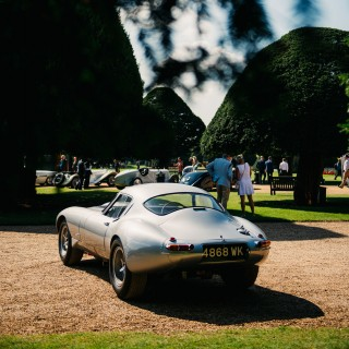A Concours Of Elegance Held At Henry VIII's Hampton Court Redefines Opulence
