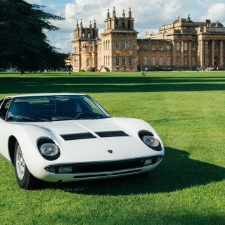 Winston Churchill's Birthplace Hosts A Unique Top Tier Concours In Salon Privé