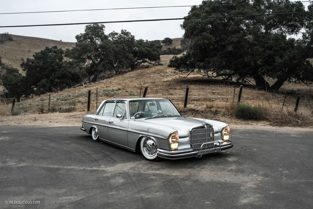 This Mercedes 280SE Lowrider Blends Period-Correct Options