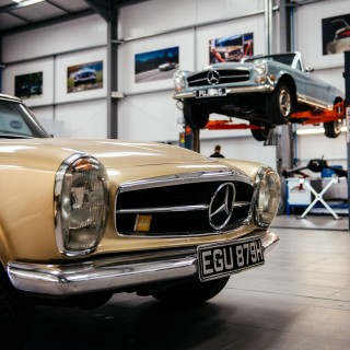 Hemmels Mercedes Is Perfecting The Pagoda And Beyond