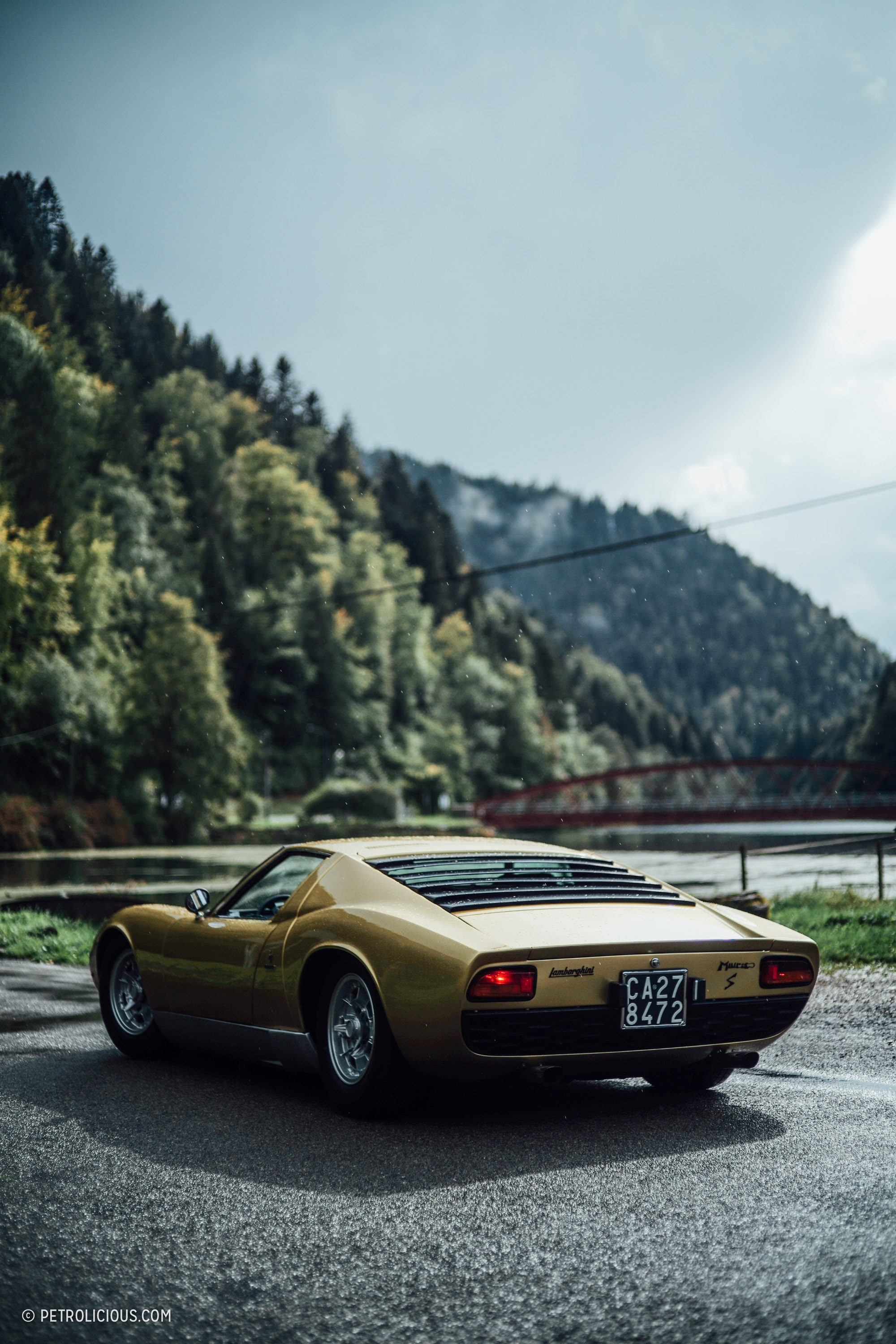 The First Ever Lamborghini Concours Was An Over The Top
