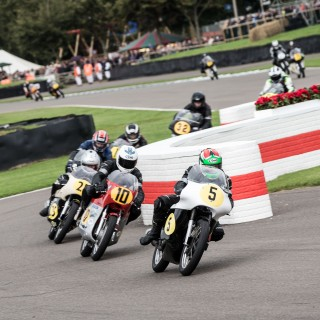 Saying Goodbye To Goodwood With A Look At Its Vintage Racing Motorcycles