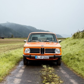 Road Trip Bliss Is A One Of A Kind BMW 2002 tii On Europe's Largest Classic Car Rally